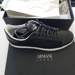 Armani Jeans Mens Sneakers